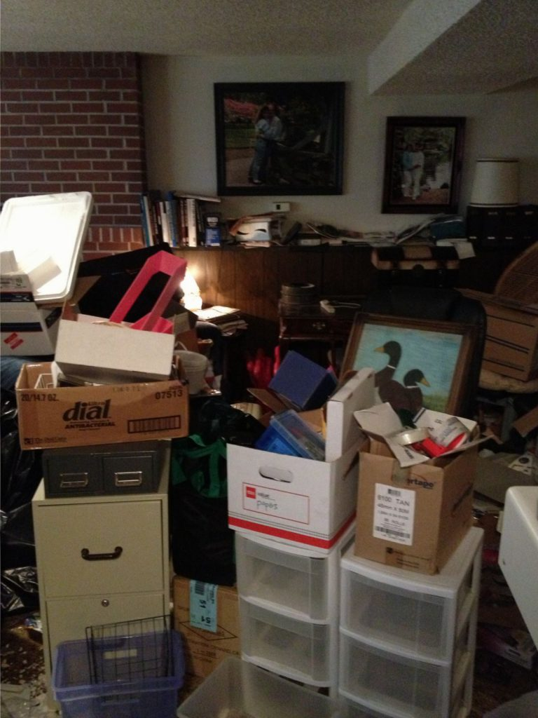 Casual Uncluttering Hoarding Situation 1