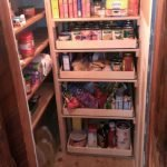 staircase closet storage