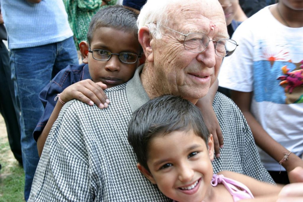 Children and Old Man