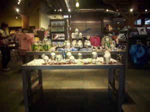 Display from aquarium gift store